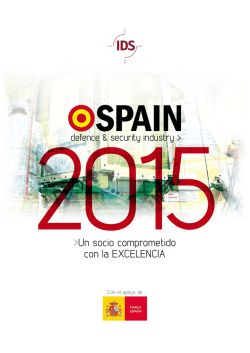 SPAIN Defence & Security Industry 2015 / Un Socio