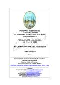 Prospecto Emisión Serie 1 2015 - Ciudad Autónoma de Buenos Aires