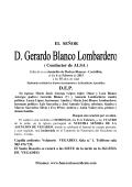 GERARDO BLANCO LOMBARDERO