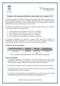 Programa Fondos para la investigación (FIUCA)