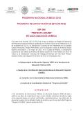 PROGRAMA NACIONAL DE BECAS 2015 PROGRAMA