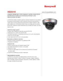 HD251H - Honeywell Video Systems
