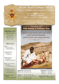 Latest Bulletin - Sacred Heart Catholic Church