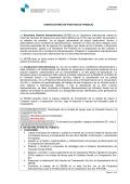CONVOCATORIA DE PUESTOS DE TRABAJO La