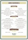 menu sugerencia - Restaurante Rebate