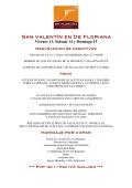 San Valentín - De Floriana