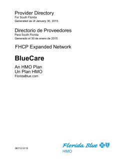 BlueCare - Florida Health Care Plans