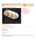 Bolitas de Paté y Queso Envueltas con Pipas y Kikos