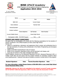 Application - Brownsville Independent School District
