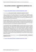realidades spanish 2 workbook answer key 3b pdf