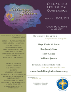 Orlando Liturgical Conference