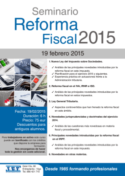 Fiscal 2015 - IET