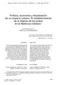 Política, economía y fiscalización de un espacio urbano