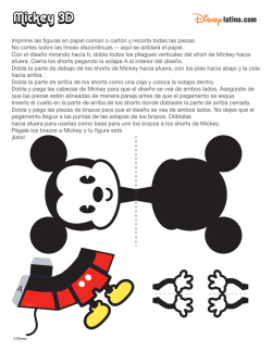 Mickey 3D - Disney Latino
