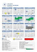 School Year Calendar Template