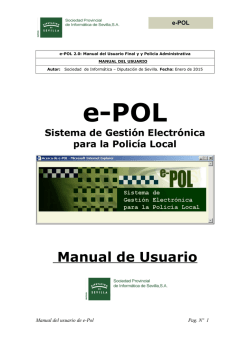 Manual del Usuario de e-Pol