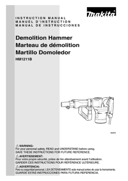Demolition Hammer Marteau de démolition Martillo
