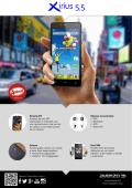 Ficha Smartphone Avenzo Xirius 5