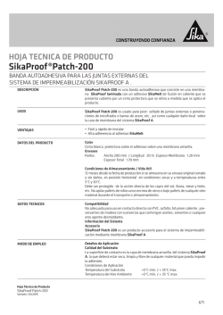 SikaProof®Patch-200