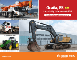 Ocaña, ES - Ritchie Bros. Auctioneers