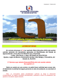 Convocatoria Licenciatura - Universidad Autónoma de Aguascalientes