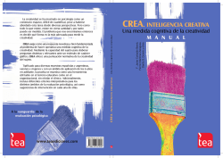 MANUAL CREA Inteligencia 2003