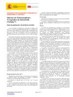 Informe de Posicionamiento Terapéutico de dabrafenib
