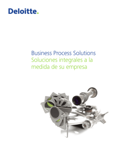 Business Process Solutions (BPS)
