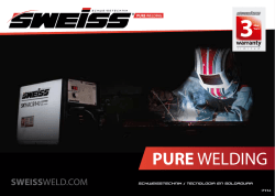 descargar catalogo - Sweiss Welding Technology