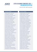 Lista de alumnos admitidos 2015