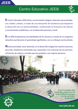Centro Educativo JEEB 65