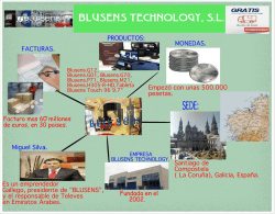 SEDE: BLUSENS TECHNOLOGY, S.L.