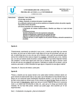 Examen de Kant - WordPress.com