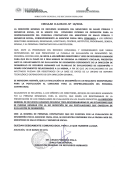 Circular N°19/2015 - Ministerio de Salud Pública y Bienestar Social