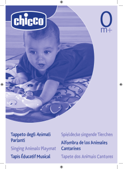 Tappeto degli Animali Parlanti Singing Animals Playmat