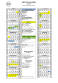 CERTIFICATED CALENDAR - Selma Unified School District