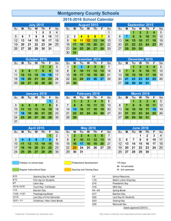 2015-16 School Calendar board approved 3-24