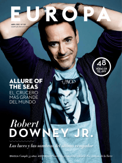 DOWNEY JR. - Air Europa
