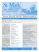 Welcome · Bienvenido · Bienvenue · Maligayang