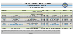 CLUB BALONMANO BASE OVIEDO