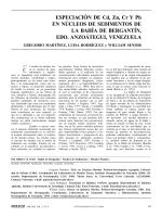 Martinez 2002 Metales en nucleos de la bah��a de Bergantil Interciencia 27 (4) (1)