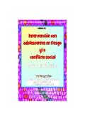Curso Intervencion con adolescentes en riesgo. Guia Didactica