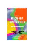 Curso Educador Hospitalario. Guia Didactica