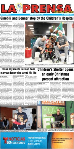 Children`s Shelter opens an early Christmas present attraction