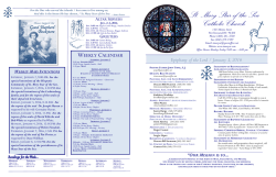 bulletins - St Mary Star of the Sea