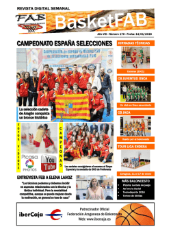 Revista Digital BASKETFAB - Federación Aragonesa de Baloncesto