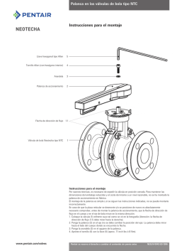 Neotecha Ball Valves, Model NTB/NTC
