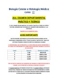 Lista de Asignación para el 2°examen departamental del 26 de