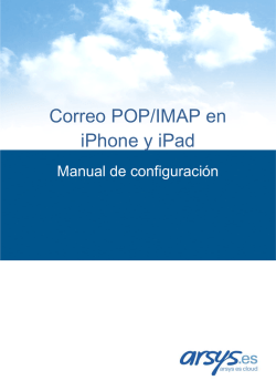 Correo POP-IMAP en iPhone y iPad
