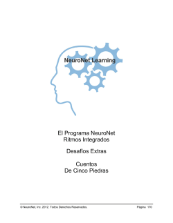 Cuentos de.. - NeuroNet Learning